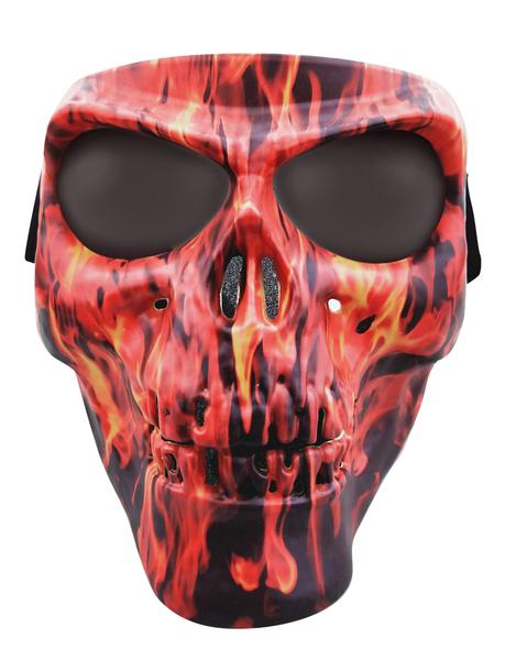 SMFS Skull Mask Flames SM | Full Facemasks
