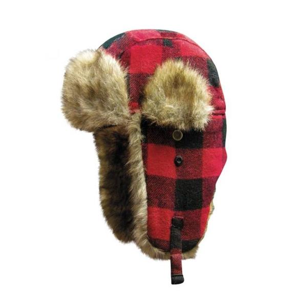 Dakota-BFP Dakota Dan-Buffalo Plaid | Hats