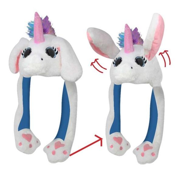 Sabecr-uni Action Big Eye Critter - Unicorn   Hats