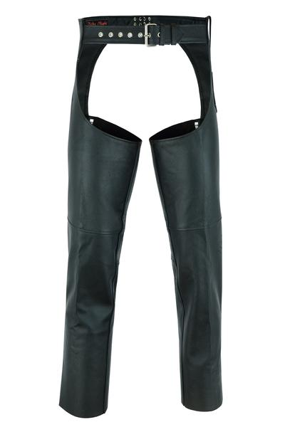 DS400 Unisex Basic Coin Pocket Leather Chaps | Chaps & Pants