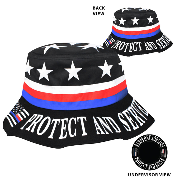 Spsvbkt Protect and Serve Bucket | Hats