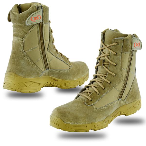 DS9783 Men's 9'' Desert Sand Tactical Boots | Men's Footwear