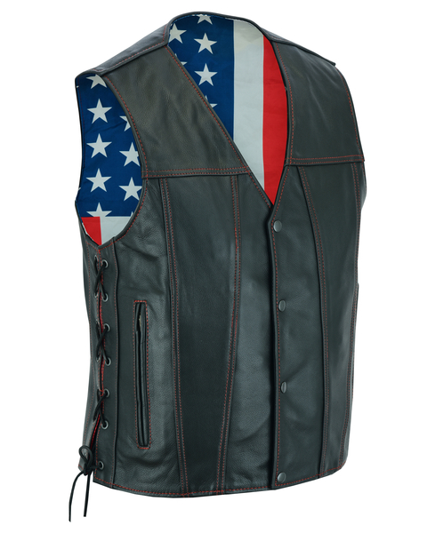 DS156 Honor Ride | Men's Leather Vests