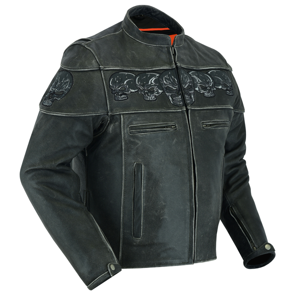 Wholesale Men's Motorcycle Jackets | DS723 Exposed