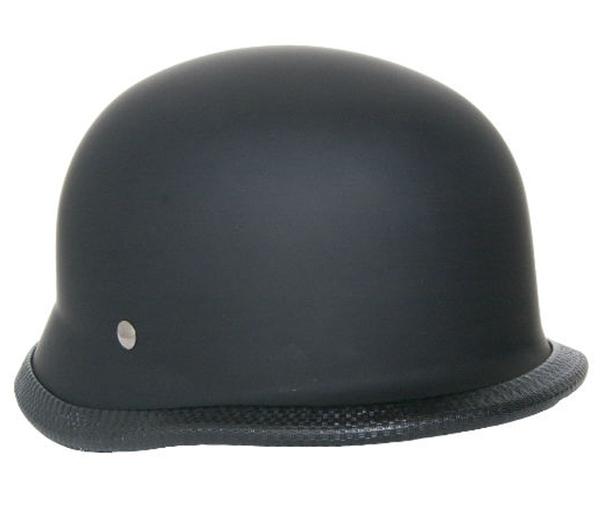 Wholesale Novelty Helmets | H2 Novelty German Rubber/ Matte Black - Non- DOT