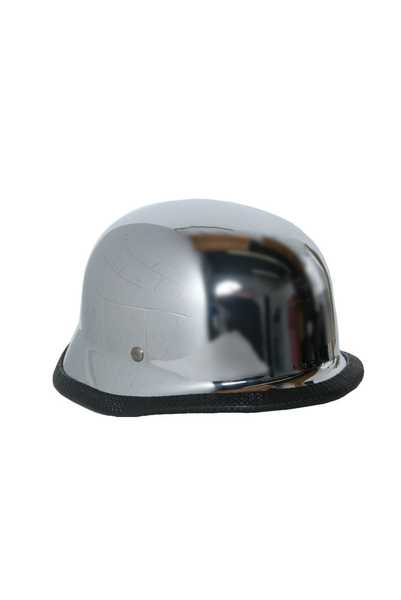 Wholesale Novelty Helmets | H14 Novelty German Chrome - Non- DOT