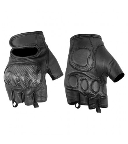 Wholesale Leather Gloves   DS18 Sporty Fingerless Glove