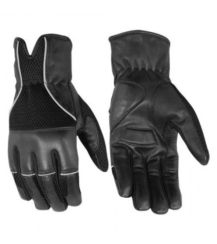 Wholesale Leather Gloves   DS65 Leather/ Textile Glove