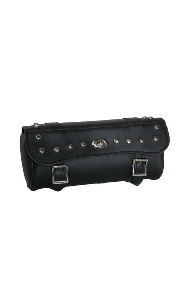 Wholesale Leather Tool Bags | DS5405S Large 2 Strap Tool Bag w/ Studs