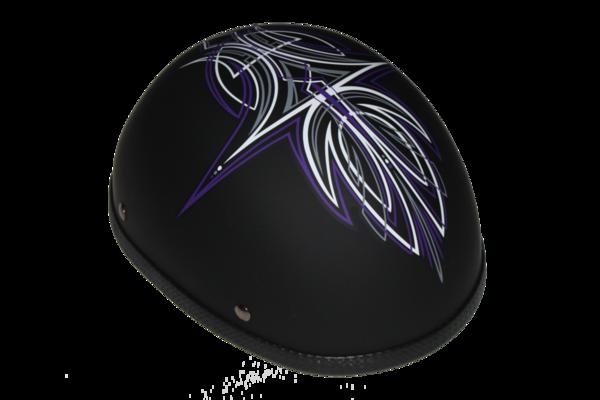 Wholesale Novelty Helmets | H29OR Novelty Eagle Orange Perewitz/Flat Black - Non- DOT