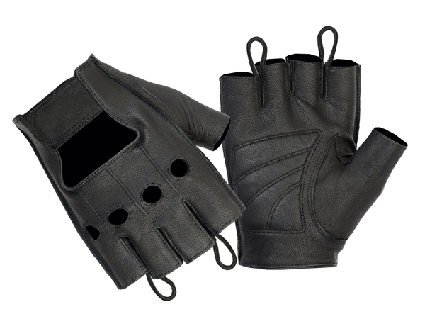 Wholesale Leather Gloves   DS11 Economy Fingerless Glove