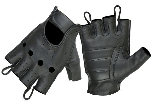 Wholesale Leather Gloves | DS11 Economy Fingerless Glove