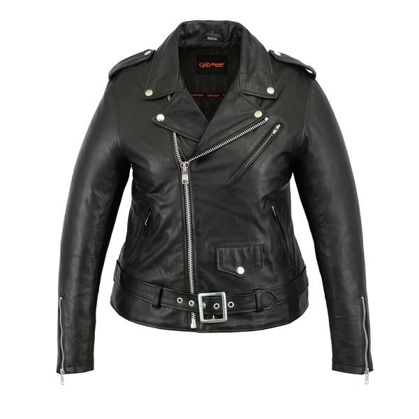 Wholesale Leather Women's Jackets   DS866 Women's Updated M/C Jacket