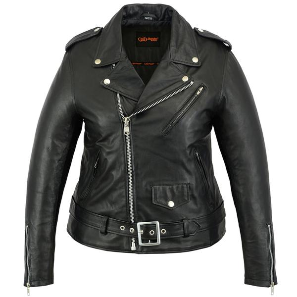 Wholesale Leather Women's Jackets | DS866 Women's Updated M/C Jacket