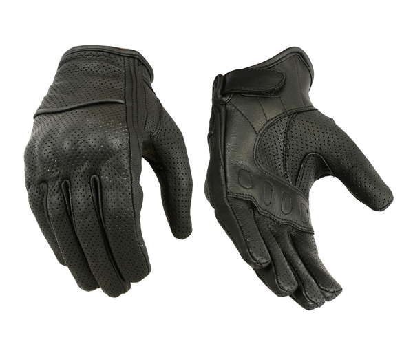 Wholesale Leather Gloves | DS77PK Women's Leather/ Textile Sporty Glove