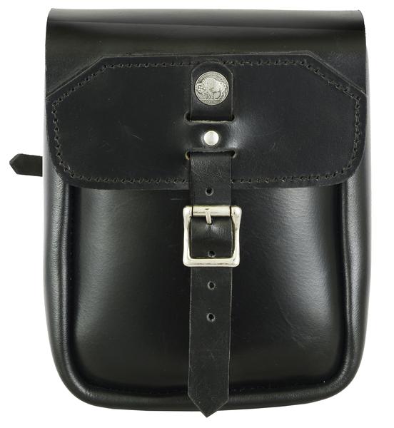 DS4020 Premium Leather Large Tool Bag for Sissybar | Sissy Bar Bags