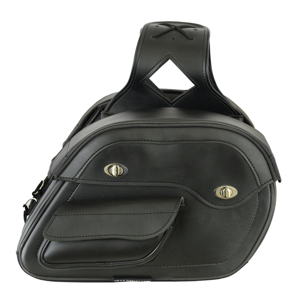 Wholesale Saddle Bags | DS313 Two Strap Saddle Bag