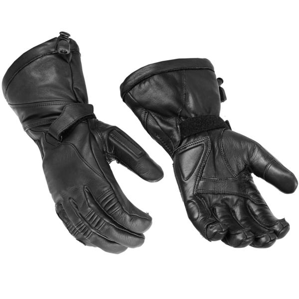 DS28  High Performance Deer Skin Insulated Cruiser Glove   Men's Gauntlet Gloves