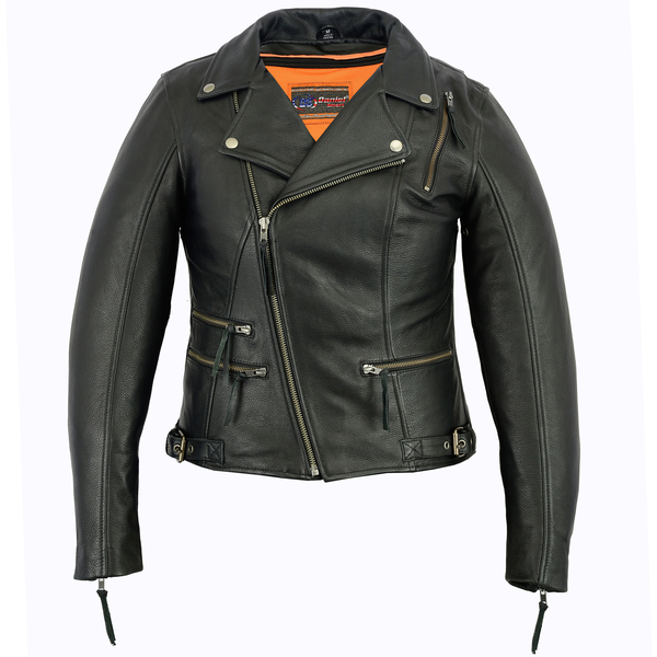 DS804 Women's Updated Stylish M/C Jacket | Women's Leather Jackets