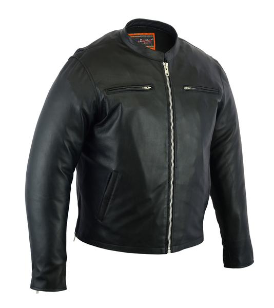 DS714 Men's Sporty Cruiser Jacket | Men's Leather Jackets