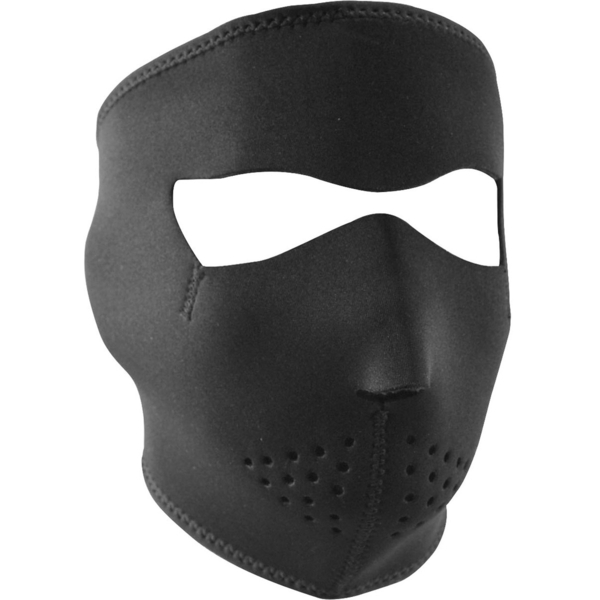 WNFM114 ZAN® Full Mask- Neoprene- Black | Full Facemasks