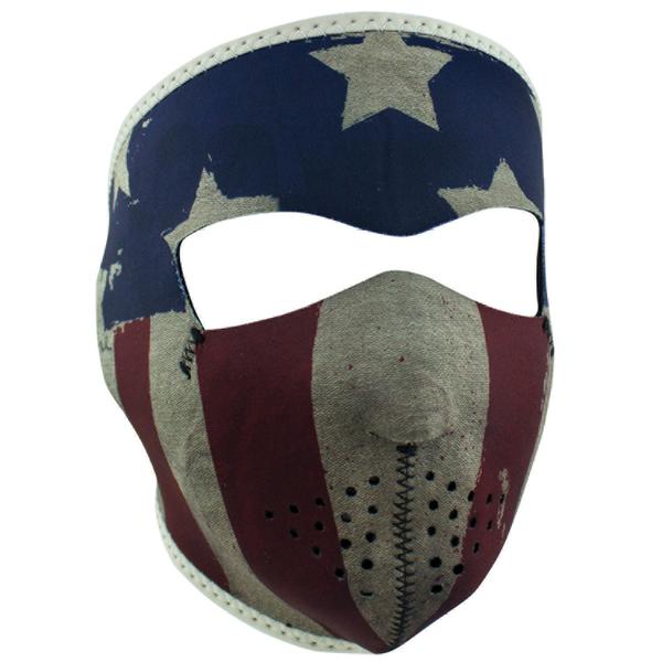 WNFM408 ZAN® Full Mask- Neoprene- Patriot | Full Facemasks
