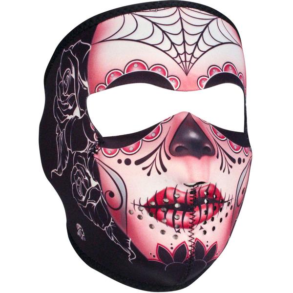 WNFM082 ZAN® Full Mask- Neoprene- Sugar Skull | Full Facemasks