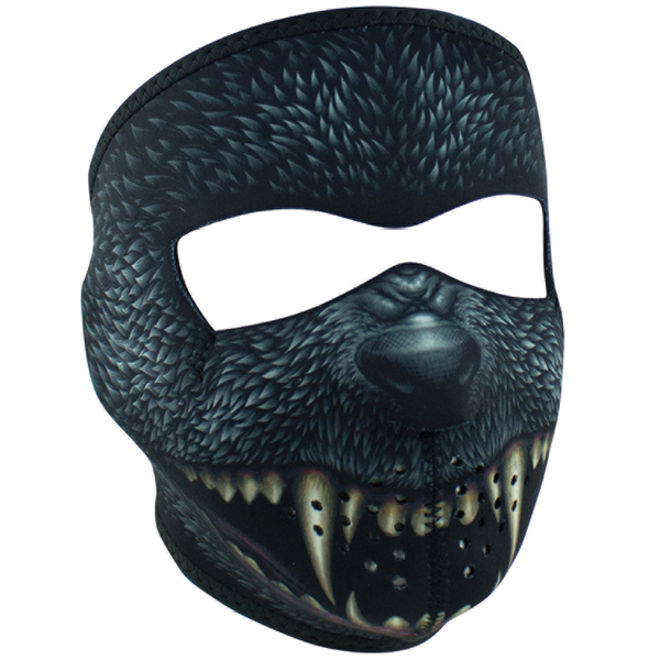 WNFM416 ZAN® Full Mask- Neoprene- Silver Bullet | Full Facemasks