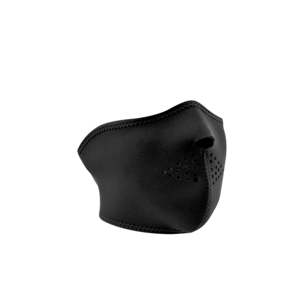 WNFM114H ZAN® Half Mask- Neoprene- Black   Half Facemasks