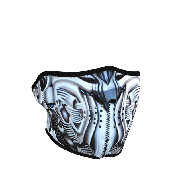 WNFM074H ZAN® Half Mask- Neoprene- Biomechanical | Half Facemasks