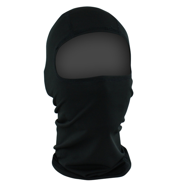 WBP114 ZAN® Balaclava- Polyester- Black | Head/Neck/Sleeve Gear