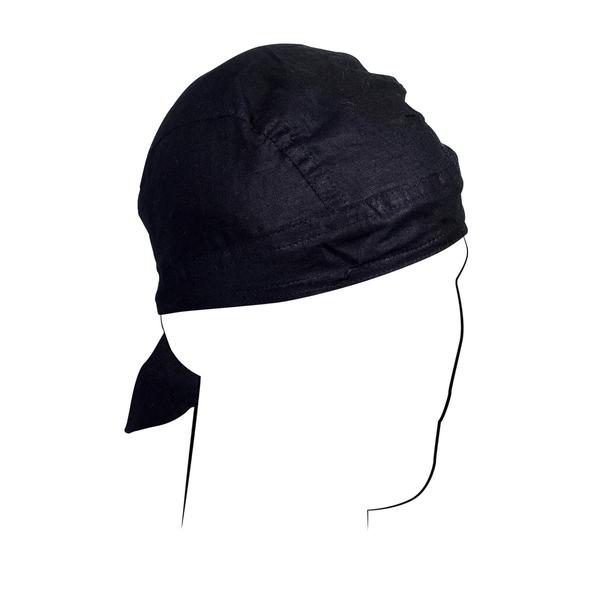 Z114 Flydanna®, Cotton, Black | Headwraps