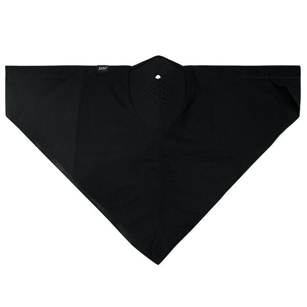 WNEO114 NEODANNA Mask- Cotton/Neoprene- Black | Half Facemasks