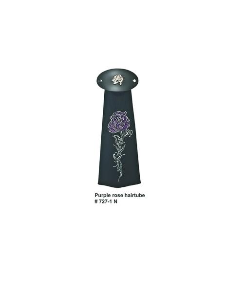J727IN Purple Rose Hairtube | Hairtubes