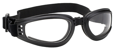 4525 Nomad Goggle Black Frame- Clear Lens | Goggles