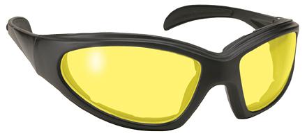 43612 Chopper Blk Frm/Yellow Lens | Sunglasses