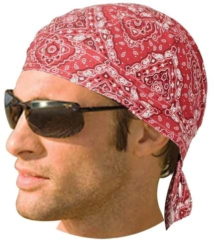 HW2614 Headwrap Paisley Red | Headwraps