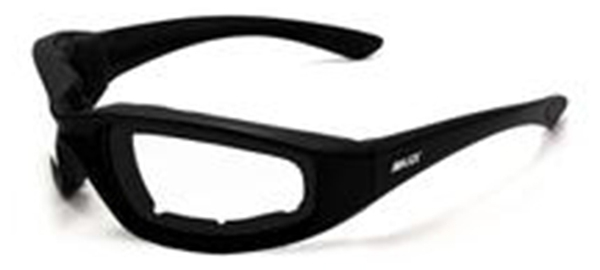 Foam-Clear Maxx Foam Black Clear Lens | Sunglasses