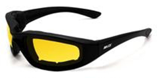 Foam-Yellow Maxx Foam Black Yellow Lens | Sunglasses