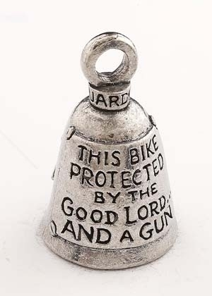 GB This Bike Pro Guardian Bell® This Bike Protected by the Good Lord   Guardian Bells