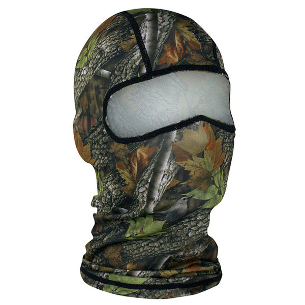 WBP238 Balaclava Polyester- Forest Camo   Head/Neck/Sleeve Gear