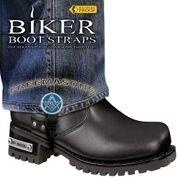 BBS/FM6 Weather Proof- Boot Straps- Freemasons- 6 Inch | Biker Boot Straps