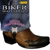 BBS/IB4 Weather Proof- Boot Straps- Iron Butterfly- 4 Inch | Biker Boot Straps