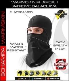 BLCLV011 Pharoah Deluxe II Balaclava- StormGear Botton- WarmSkin Top With | Head/Neck/Sleeve Gear