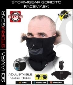 VNG004 StormGear Gorditi Facemask w/ Velcro Closure/ Nose Opening | Head/Neck/Sleeve Gear
