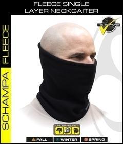 NG002 Single Layer Fleece NeckGaiter- Black | Head/Neck/Sleeve Gear