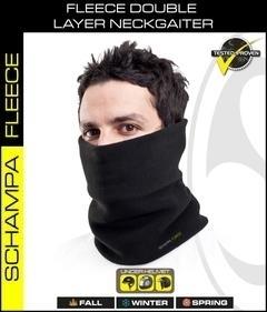 NG001- Double Layer Fleece NeckGaiter- Black | Head/Neck/Sleeve Gear