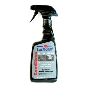 15022 SafeClean- Silver & Black Motor Cleaner- 22oz | Bike Cleaners