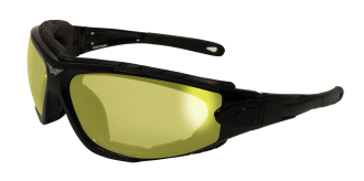 24ShortyKitYTA/F Shorty 24 Kit Yellow Photochromatic Ant-Fog Lenses | Photochromatic Glasses