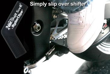 RSS-BLACK Rubber Shift Sock- Black | Rubber Shift Sock